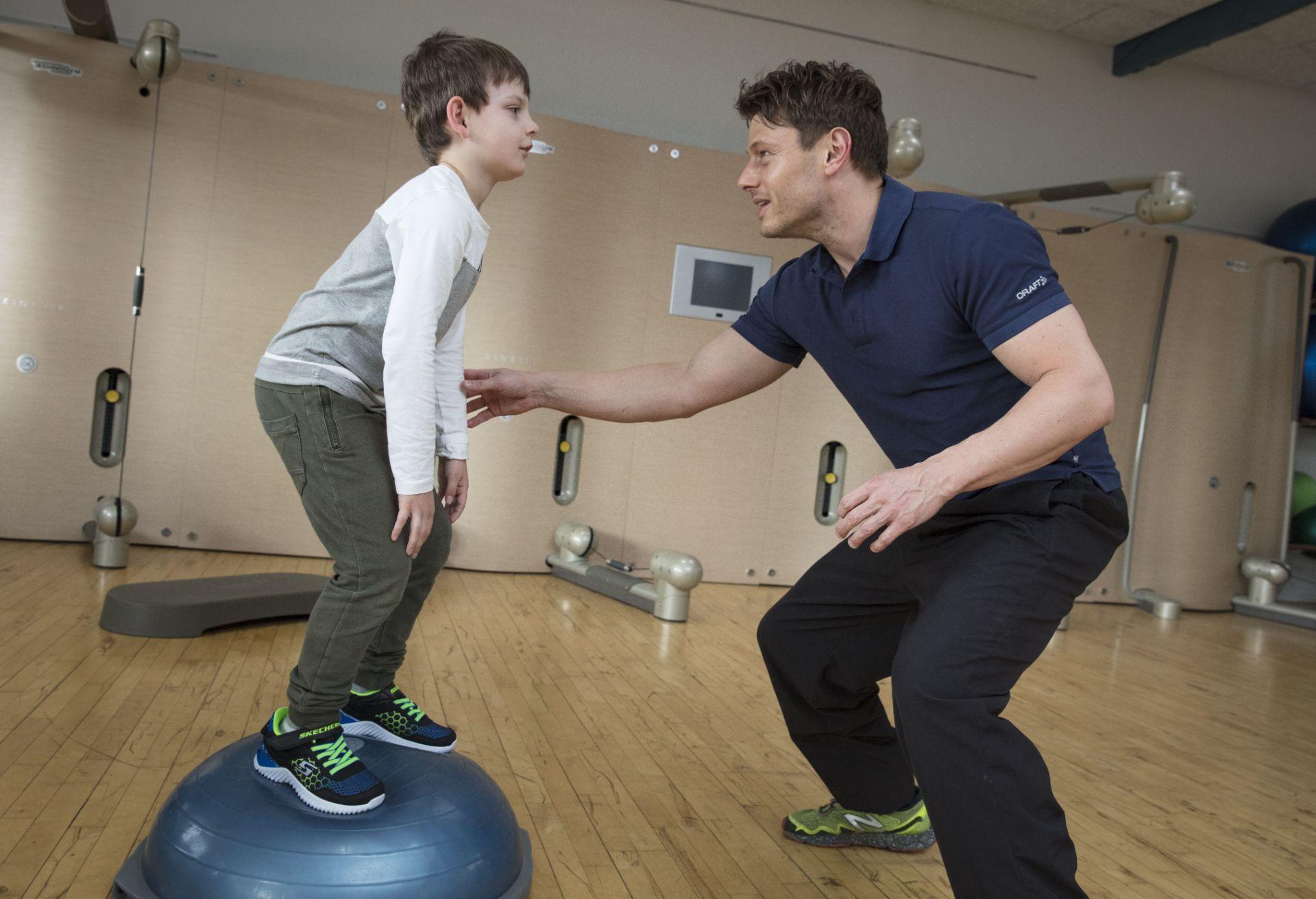 fysioterapi for børn